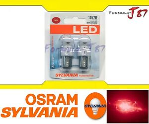 Sylvania-Premium-LED-light-Bulb-1157-Red-Turn-Signal-Side-Marker-Tail-Upgrade