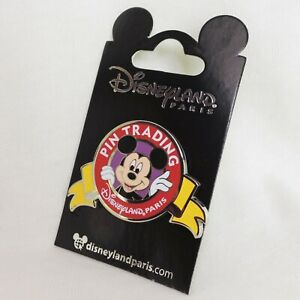 DISNEY Sammler PIN * Disneyland PARIS * MICKEY Mouse PIN TRADING Anstecknadel
