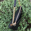 NWT-MICHAEL-KORS-SAFFIANO-LEATHER-Jet-Set-Travel-DOME-CROSSBODY-BAG-BLACK-GOLD thumbnail 7