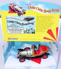 Corgi Toys 1:43 CHITTY CHITTY BANG BANG Movie TV Model Car + Fig. 05301 MIB`99!