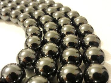 50 Perles Hématite Veritable 6//8//10mm