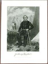 Zachary Taylor, US President, Original 19th Century Engraving, Johnson Fry & Co.