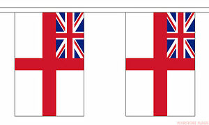 30 flags Royal Marines Bunting British Military 9 metre