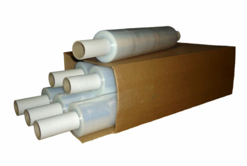 Strong Pallet Wrap Flush Core Black 400MM 1.2KG Roll Stretch Shrink Non Extended