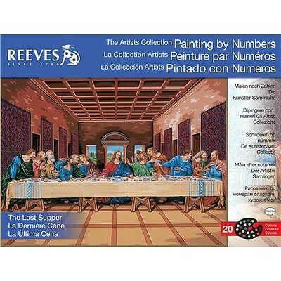 Reeves Paint By Number Kit Artist's Collection - 171228