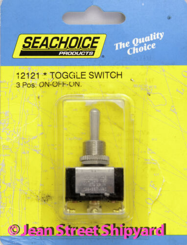 Marine Boat Hot Rod 3 Position Screw Terminal SPDT Toggle Switch On-Off-On 12121