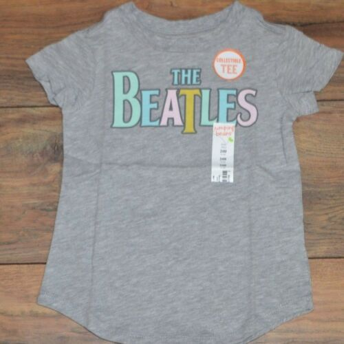 Jumping Beans Collectible Beatles Tee Baby Girl T-Shirt Size 24 Months