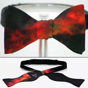 UNIQUE DESIGNER Bow Tie Wide World View Handmade by Remarkable Bowties