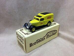 Brooklin 1/43 BRK16  - 1936 Dodge Van Drink Coca Cola Yellow