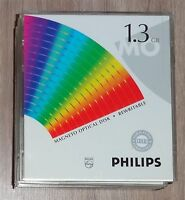 "Philips 5,25"" MO Disk 1,3 GB Rewritable Data Cartridge NOS"