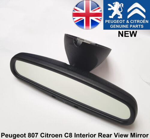 Peugeot 807 Citroen C8 Interior Rear View Mirror Auto Dimming Genuine New 8153SC