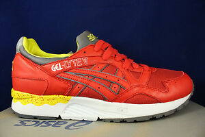 Details about ASICS GEL LYTE V 5 FIERY RED YELLOW WHITE H415N 2301 SZ 9