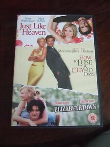 ElizabethtownJust Like HeavenHow To Lose A Guy In 10 Days DVD 2008 - Sandy, United Kingdom - ElizabethtownJust Like HeavenHow To Lose A Guy In 10 Days DVD 2008 - Sandy, United Kingdom