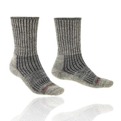 Aufrichtig Bridgedale Mens Hike Midweight Boot Merino Socks Grey Sports Outdoors Warm
