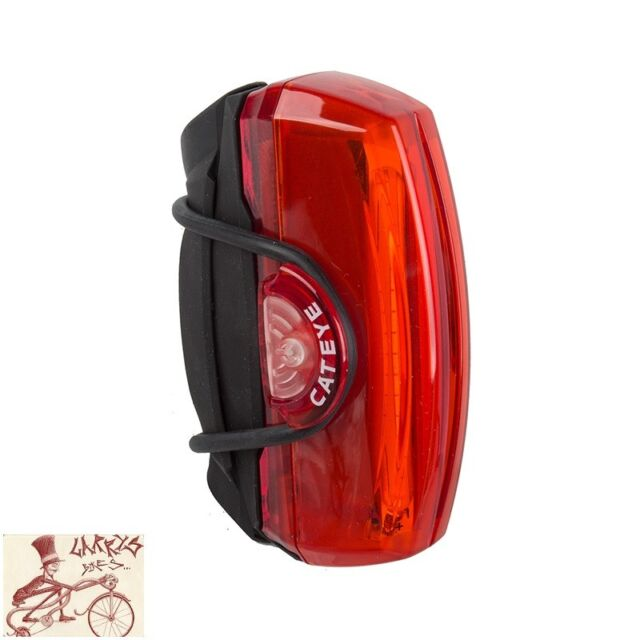 CATEYE TL-LD720-R RAPID X3 150-Lumens Bicycle Rear Tail Light taillight RED