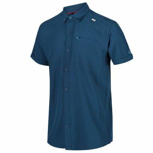 Regatta kioga caballero camisa de función fácilmente monocromo transpirable rápido secado