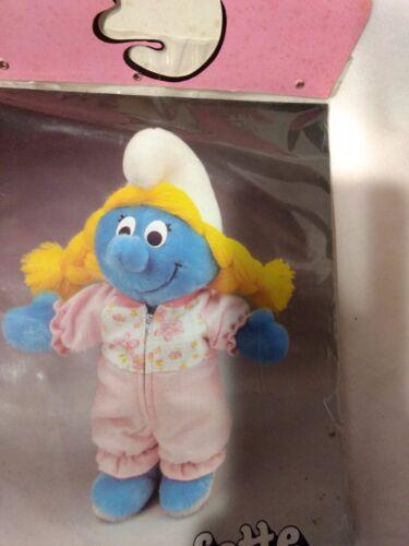 Rare Smurfette/'s Wardrobe Or Plush Doll Pink One Piece Pajamas 1983    NEW t1312