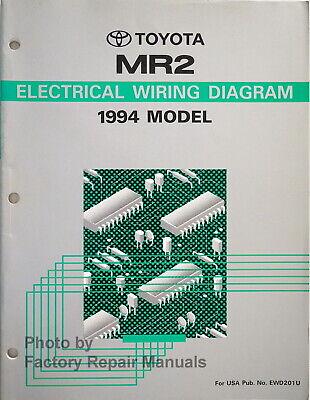 1994 Toyota Mr2 Electrical Wiring, Mr2 Wiring Diagram