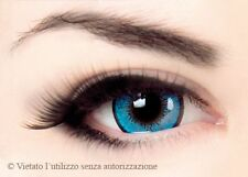 COSPLAY HALLOWEEN DISCOTECA - Lenti colorate - GLAMOUR - Blu