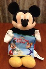 """Disney Mickey Mouse Clubhouse 12"""" Plush Hand Puppet Cloth Book Reading Toy"""