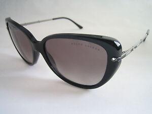 Sunglasses Bnwt Silver 5001 Rl Crystals Ralph Black 8094 8e Genuine Lauren pwqxn6zA5