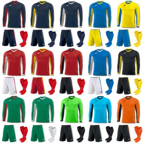 JOMA CHAMPION FOOTBALL TEAM KIT STRIP SHIRTS, SHORTS, SOCKS MENS ADULTS