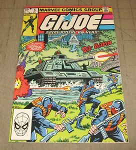 GI JOE #5 (1st Print Nov 1982) FN+ Condition Comic - G.I. JOE, Central Park Tank