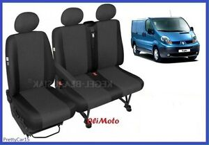 onwards Tailored Eco-Leather Seat Covers 2+1 VAUXHALL VIVARO 2014