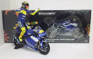 MINICHAMPS VALENTINO ROSSI 1 12 SET YAMAHA YZR-M1 MOTOGP DONINGTON 2005 720 PCS