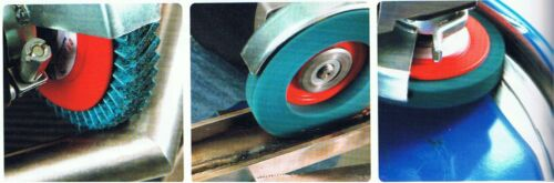 Roue de Polissage 125 X 22,2 pour Meuleuses D/'Angle Chamois,Disque Ventilateur