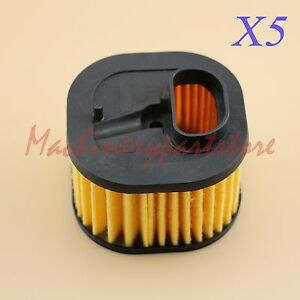 Details about 5X air filter HD for husqvarna chainsaw 362 365 371 372 372XP  362XP 503 81 80 04