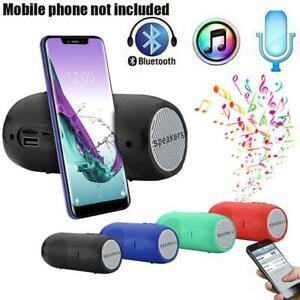 4-color-Outdoor-Bluetooth-Speaker-Wireless-Stereo-Sound-Bar-TF-FM-Radio-Portable