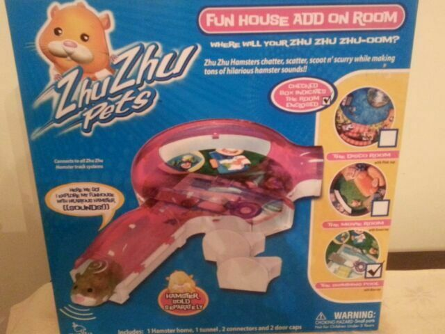 Cepia Zhu Zhu Pets Hamster Fun House Add On The Movie Room Green Top For Sale Online Ebay
