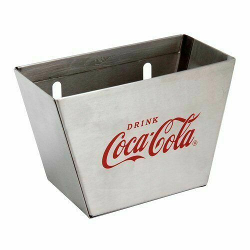 Red//Silver TableCraft Coca-Cola CC361 Stainless Steel Cap Catcher