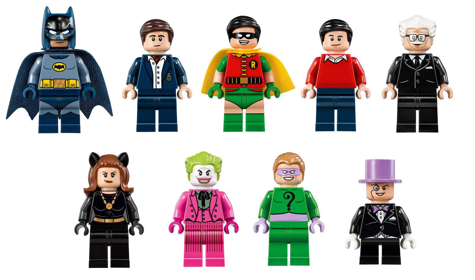 LEGO Batman Classic TV Series Batcave 76052 MINI FIGURES FIGURES FIGURES USC LIMITED EDITION 282e5d