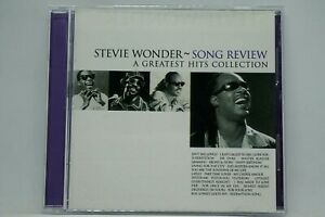 Stevie-Wonder-Song-Review-A-Greatest-Hits-Collection-CD-Album