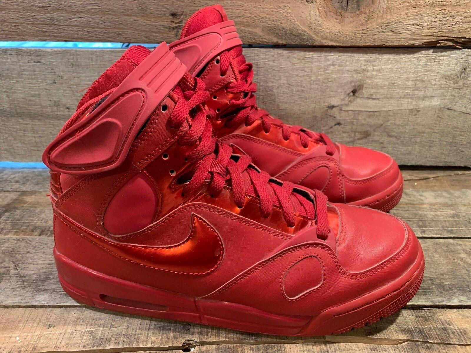 Nike Air PR1 Hoh Haus der Bänder Herren Schuhe Größe 8 Uni Rot 432526-666