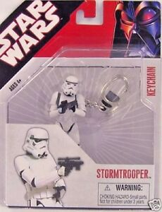 Star Wars Stormtrooper Keychain Keyring Imperial Soldier Lucas Storm