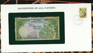 WESTERN SAMOA 1 TALA 1980 P 19 UNC