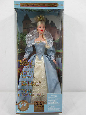 Princess of the Danish Court Barbie Dolls of World Collection 2002 56216