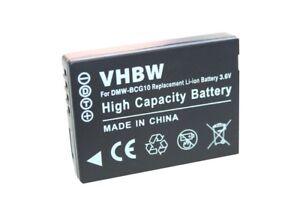 DMW-BCG10 Cargador De Batería Para Panasonic LUMIX DMC-TZ7S DMC-TZ10 DMC-ZR1 DMC-ZR3