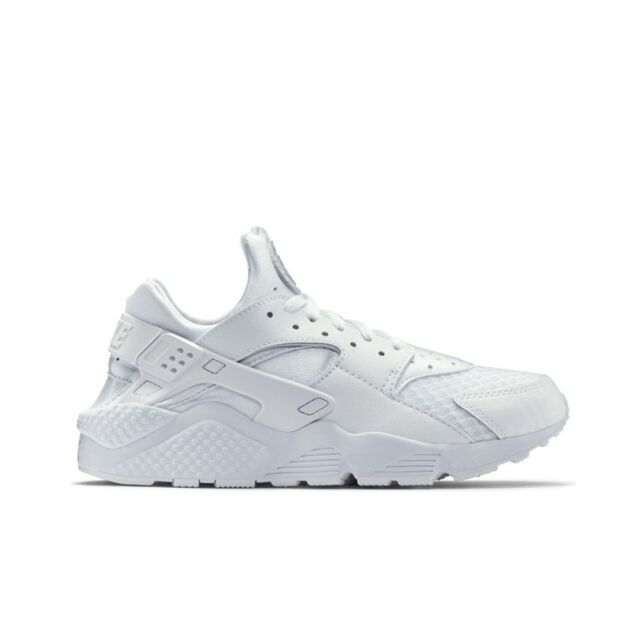 reputable site 3dbb3 19c7f Nike Air Huarache Run (White White-Pure Platinum) Men s Shoes 318429-