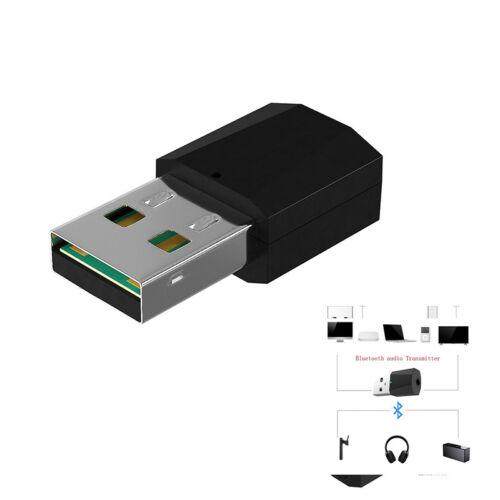 USB Bluetooth 4.2 Stereo Audio Transmitter Adapter for TV PC Speaker Headphone