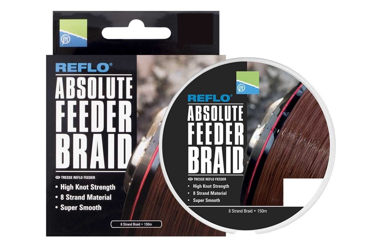 Preston Innovations Absolute Feeder Braid Assorted Sizes Fishing Reel Line