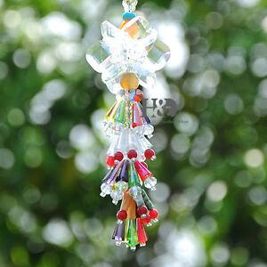 Suncatcher hanging crystal drop rainbow prism feng shui mobile wind chime ebay - Feng shui mobel ...