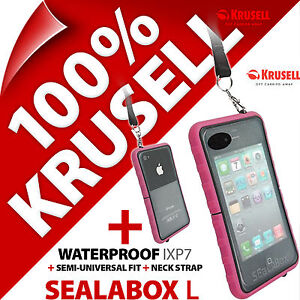 Krusell-Sealabox-L-etui-pour-iPhone-3GS-4-4S-etanche-etui-de-teLePhone-portable