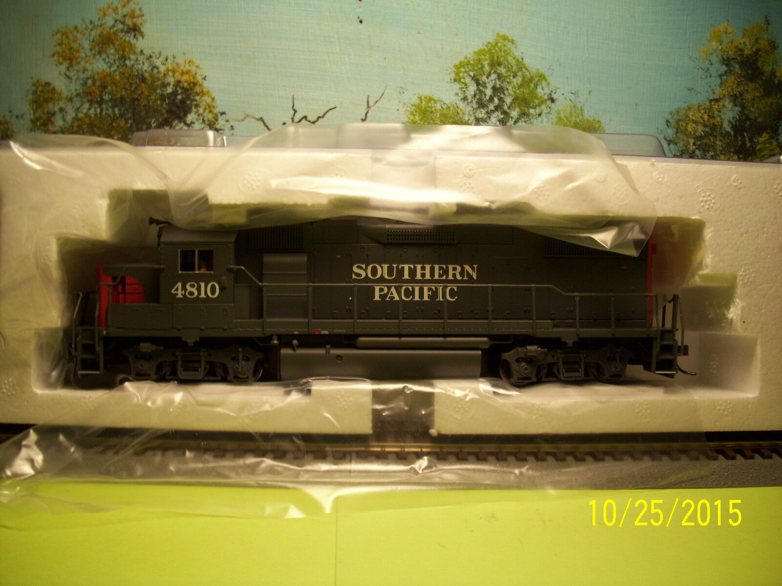 ATLAS TRAINMAN HO SCALE  964 GP38-2 SOUTHERN PACIFIC  4810