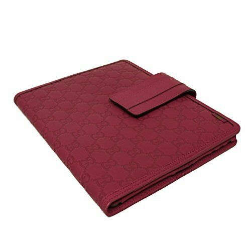b25200acc91 100 Authentic Gucci Guccissima Red Leather Tablet iPad Cover case sleeve  for sale online