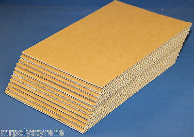CORRUGATED BOARD CARDBOARD SHEETS BROWN WHITE DOUBLE SINGLE WALL  A4, A3, A2