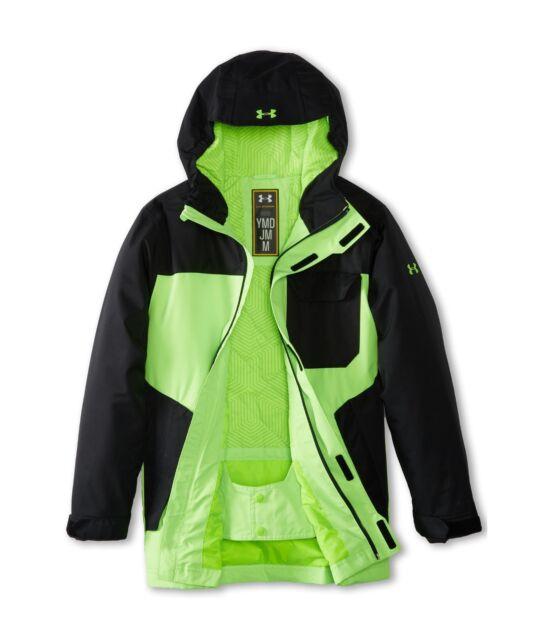 1f59bbafb Boys Under Armour Cold Gear Infrared Hacker Waterproof Jacket Black ...